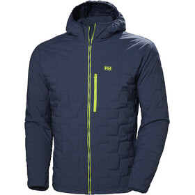 Helly Hansen Lifaloft Geïsoleerde Stretchjas met Capuchon Heren, north sea blue
